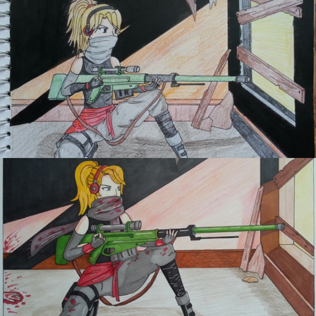 Sniper redraw