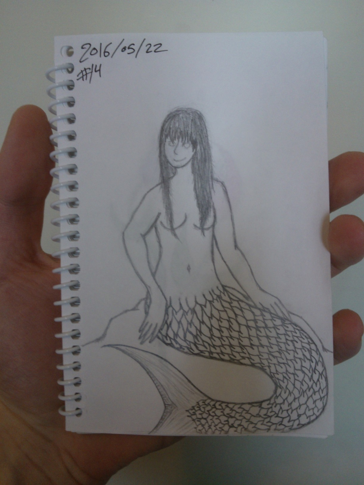 Every Day A Drawing #14: Mermaid