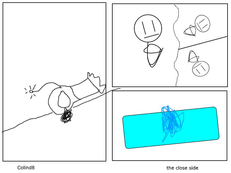 Suicidal splash -comic-