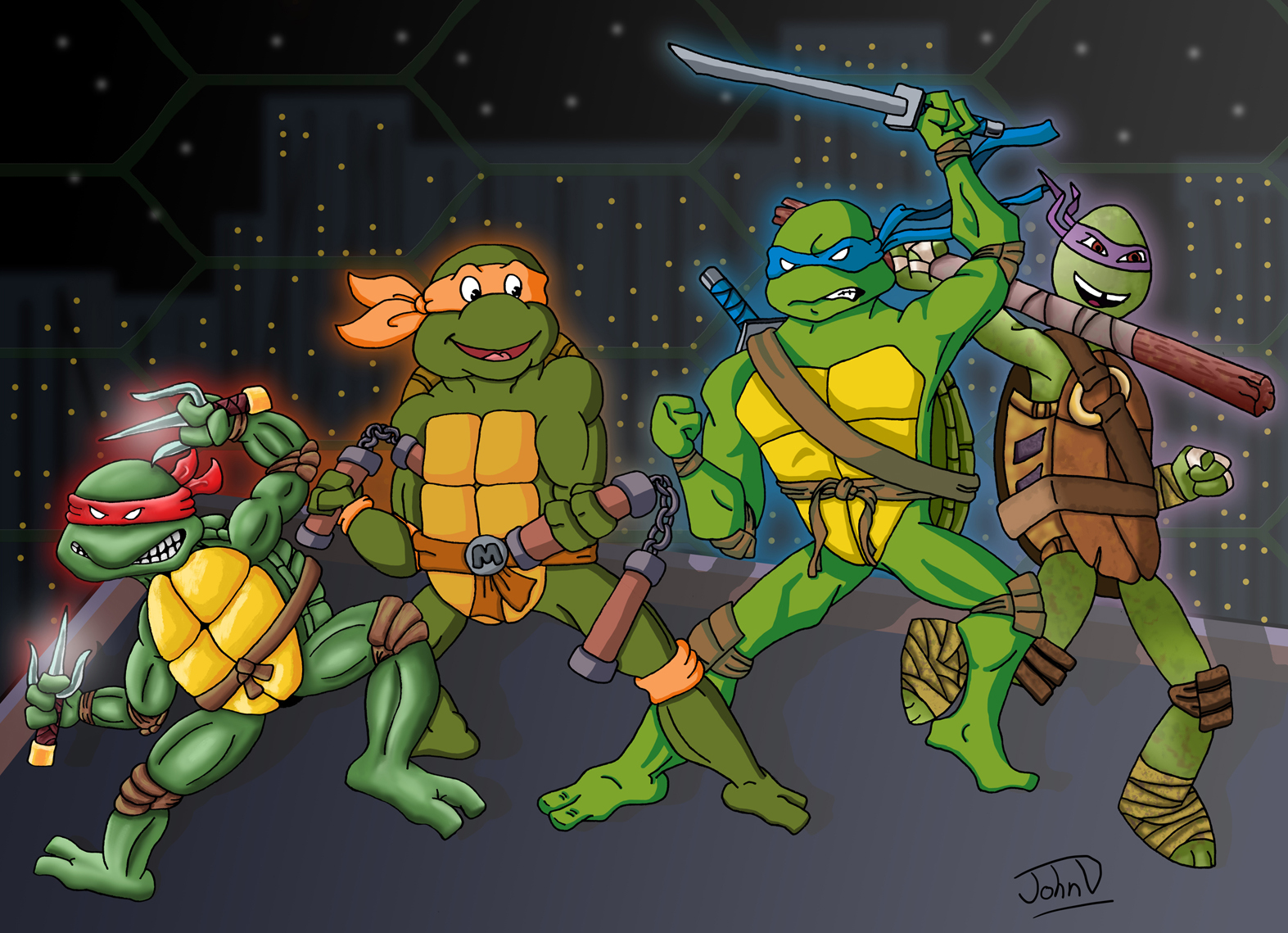 Teenage Mutant Ninja Turtles Evolution