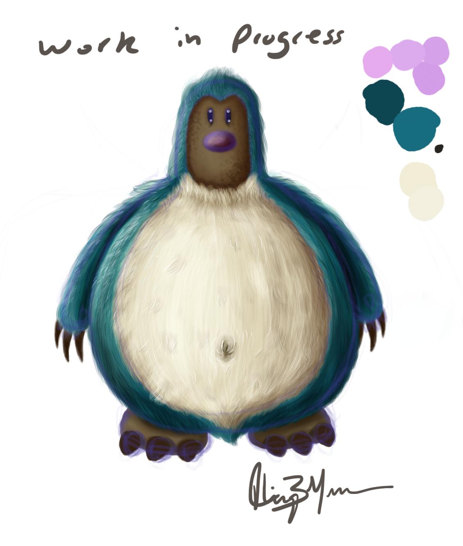 Snorlax + Diglett = Snorlett (Work in progress)