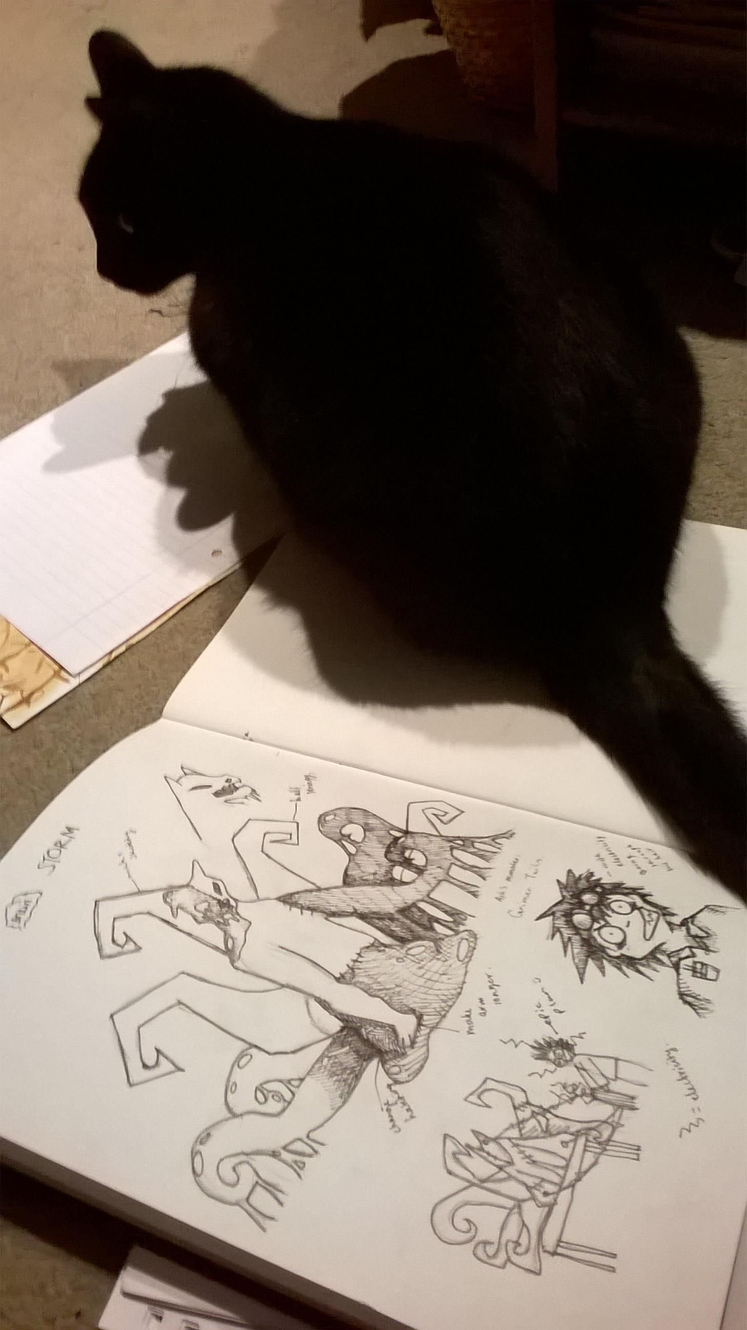 planning for Jazza's COTM #Pokemashup