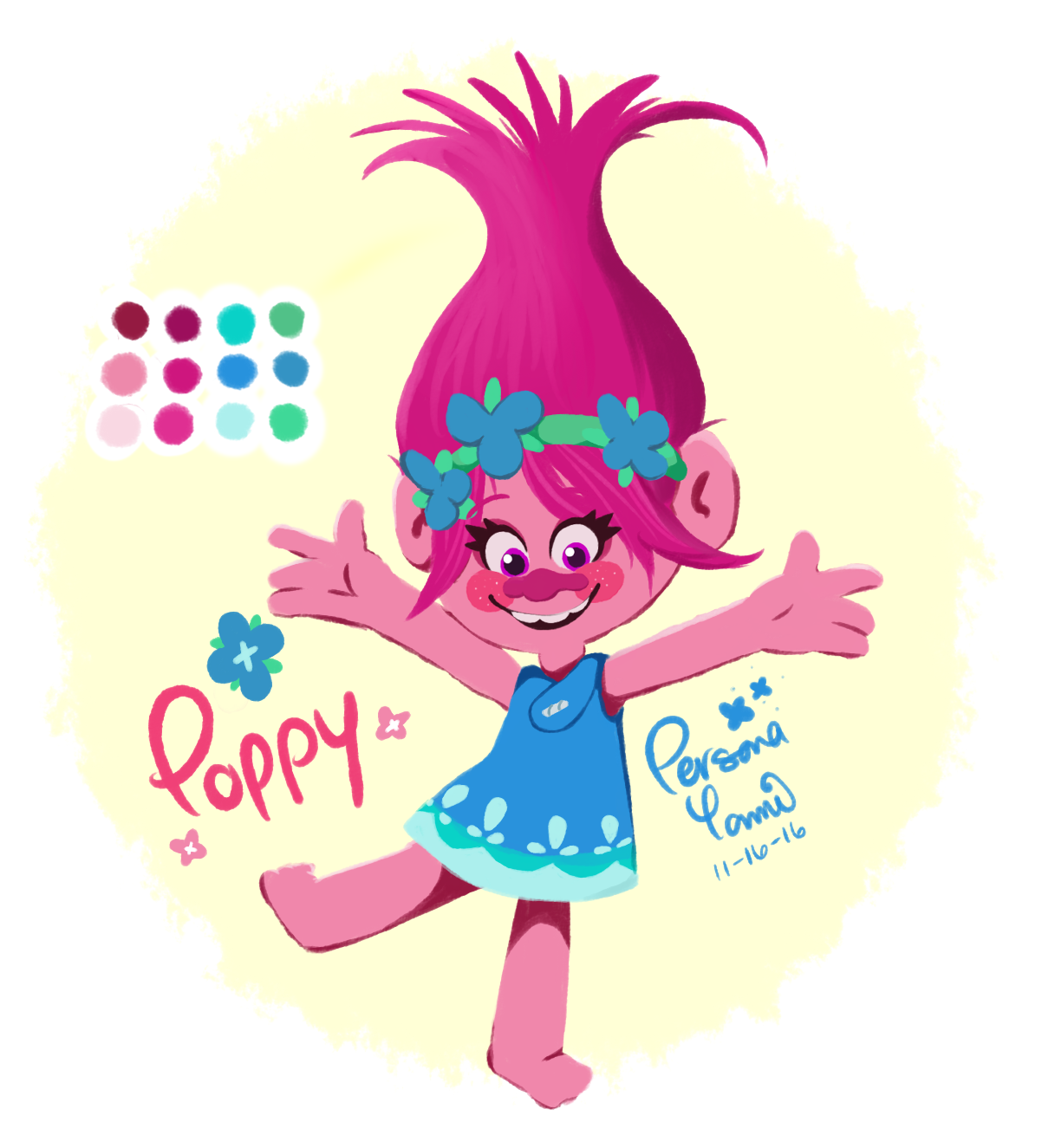 Happy Poppy
