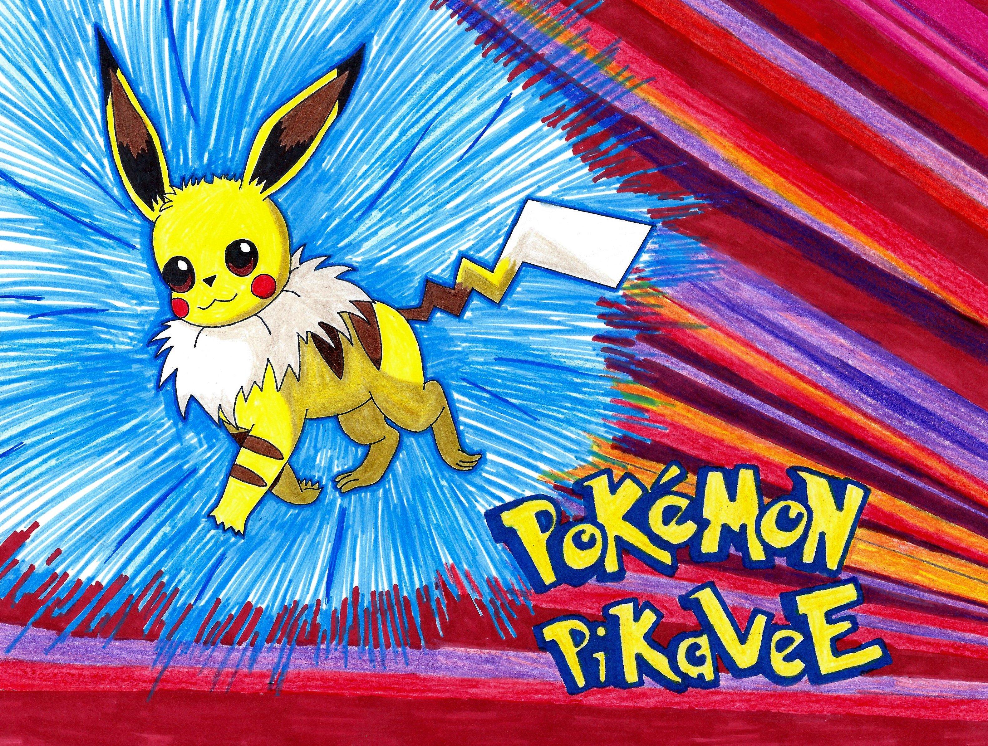 Pikachu Eevee