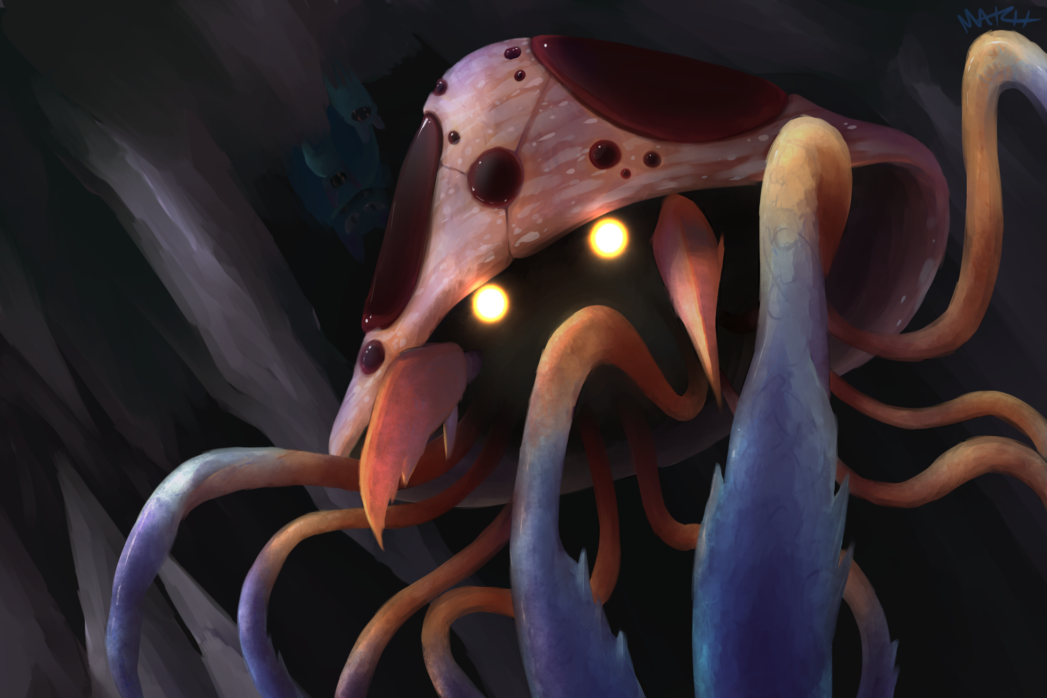 Pokemon Mashup: Tentacruel + Parasect