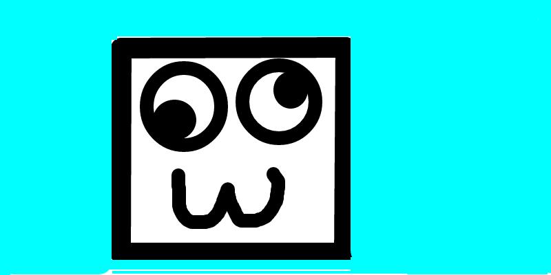 Geometry Dash Icon Idea 1: Funny Face!