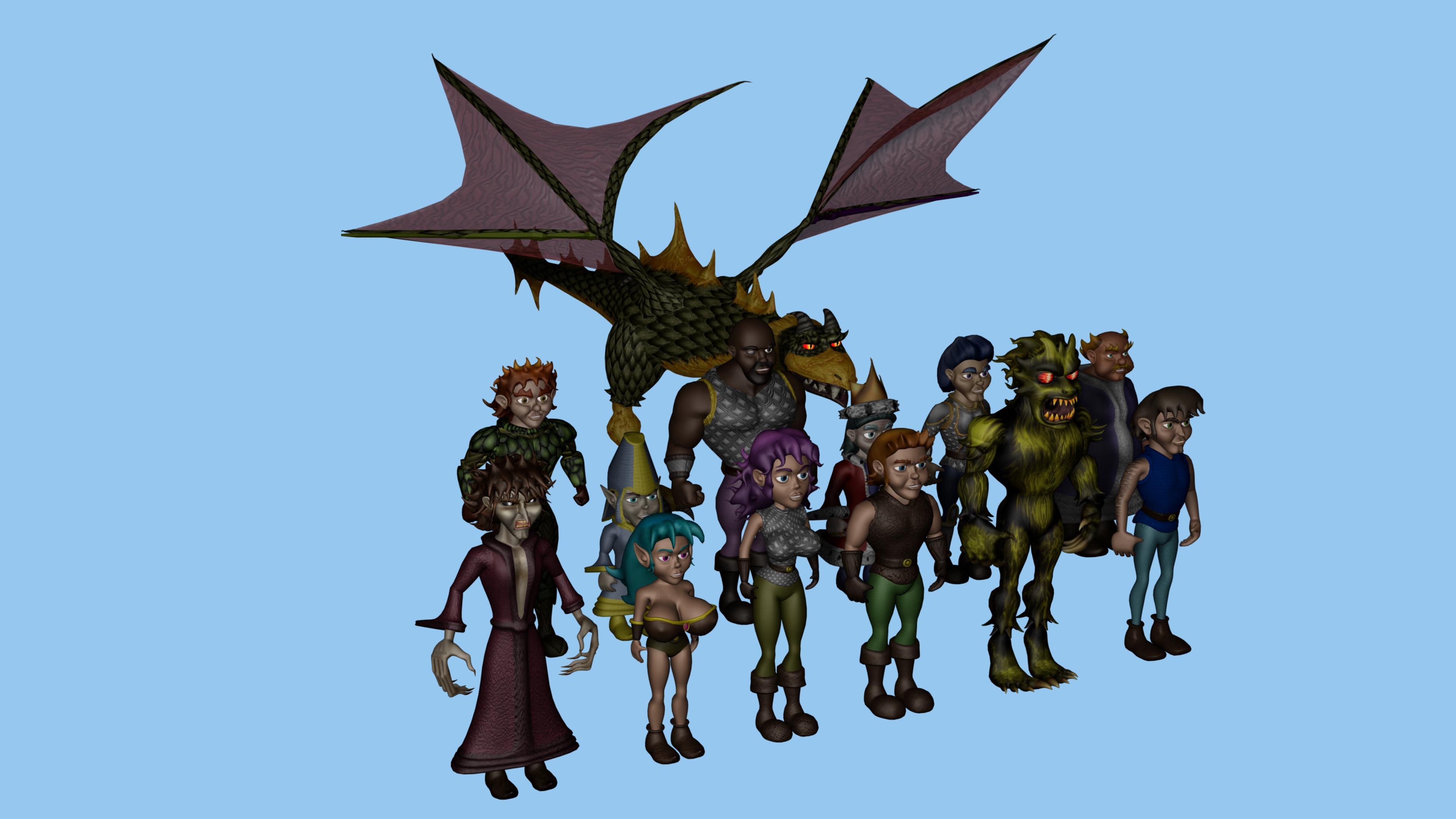 Tales of Adventure cast