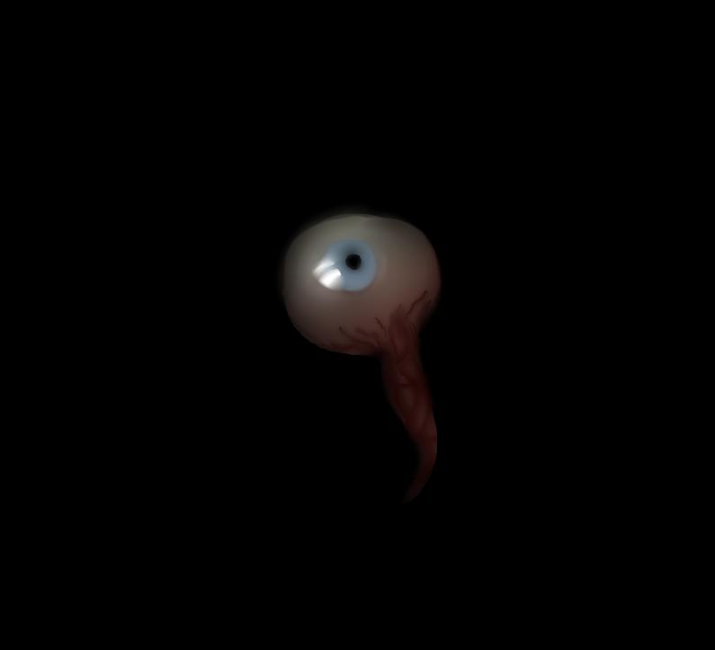 Digital Blending Practice: Eyeball