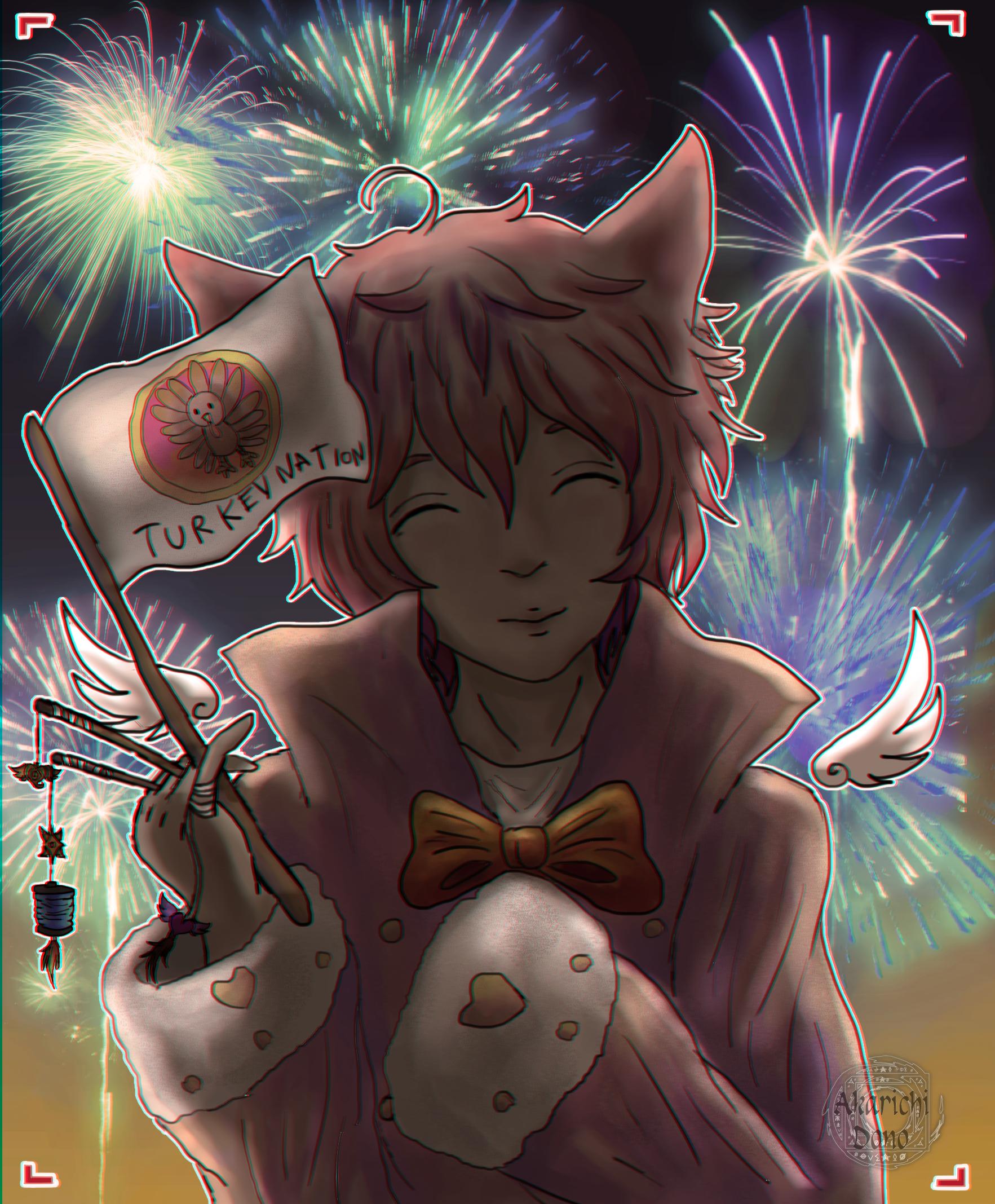 raffle prize- fireworks