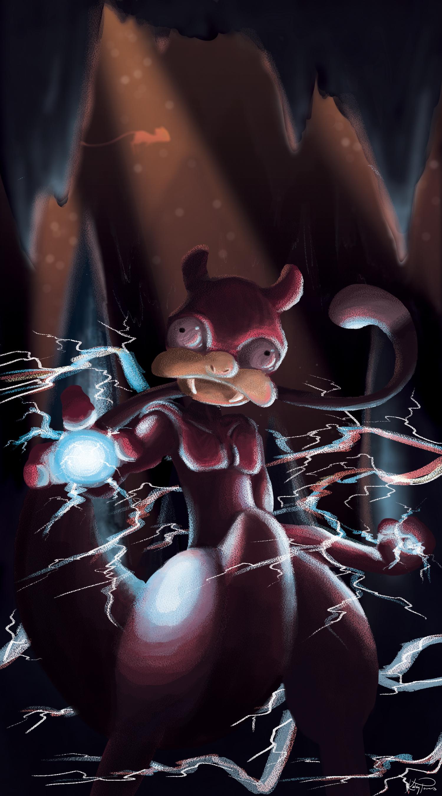 Mewtwo + Slowpoke = TwoPoke
