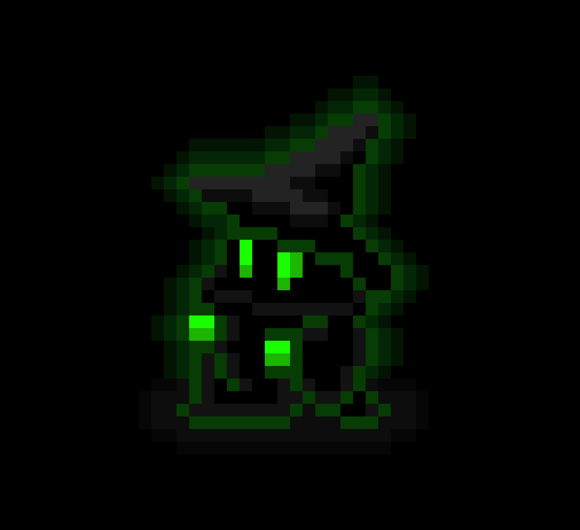 8-bit Green Wizard