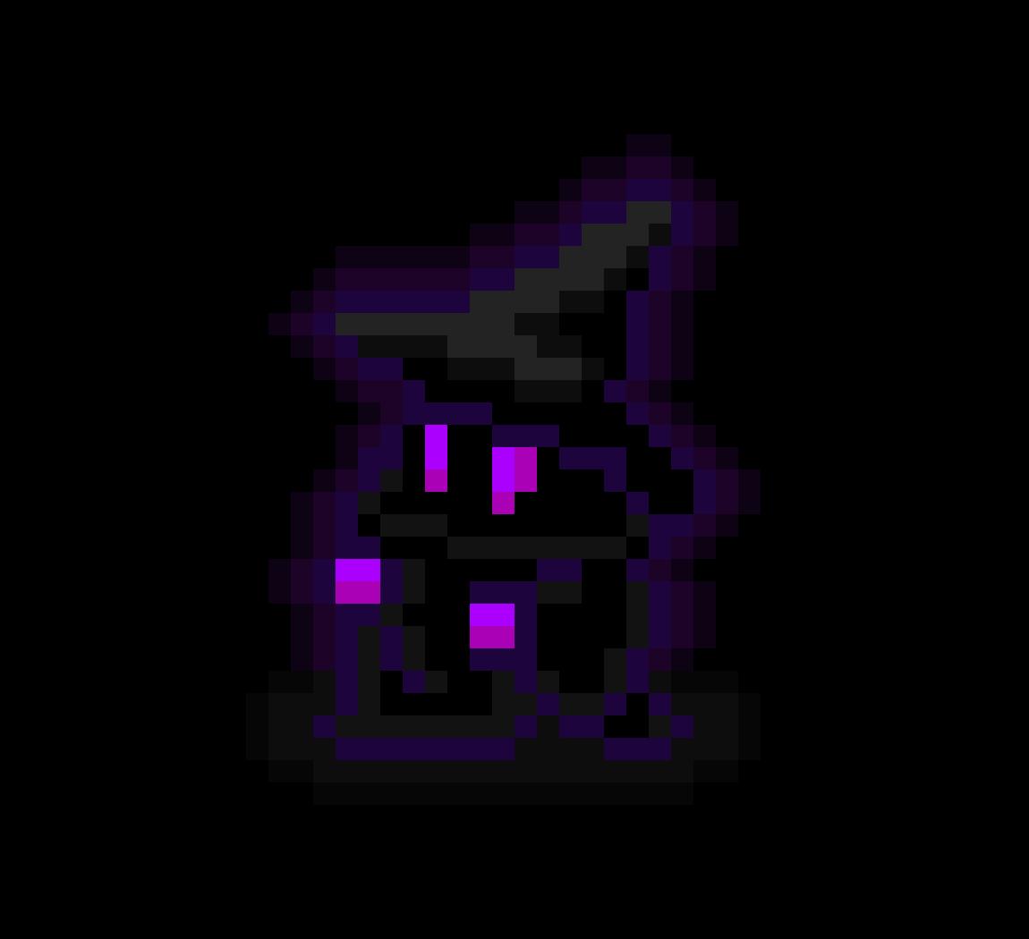 8-bit Purple Wizard