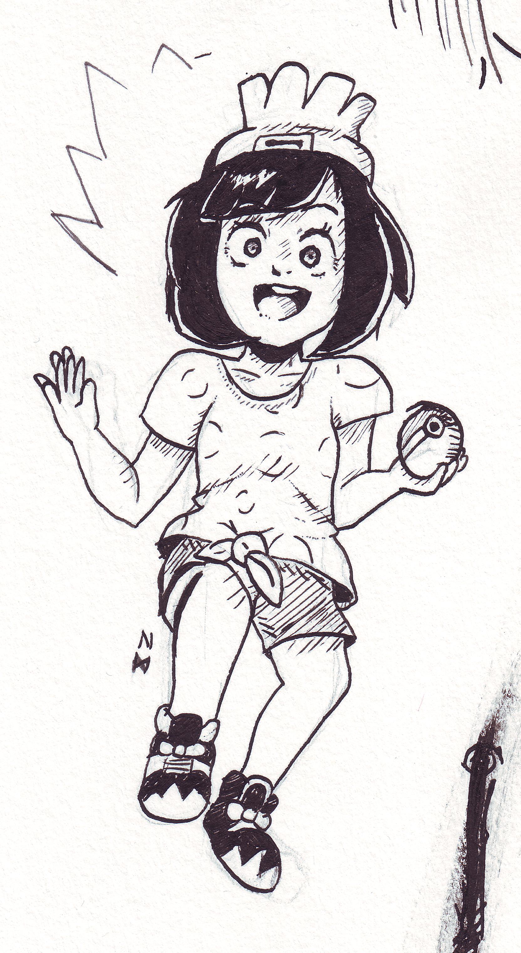 Pokemon Sun & Moon Girl trainer
