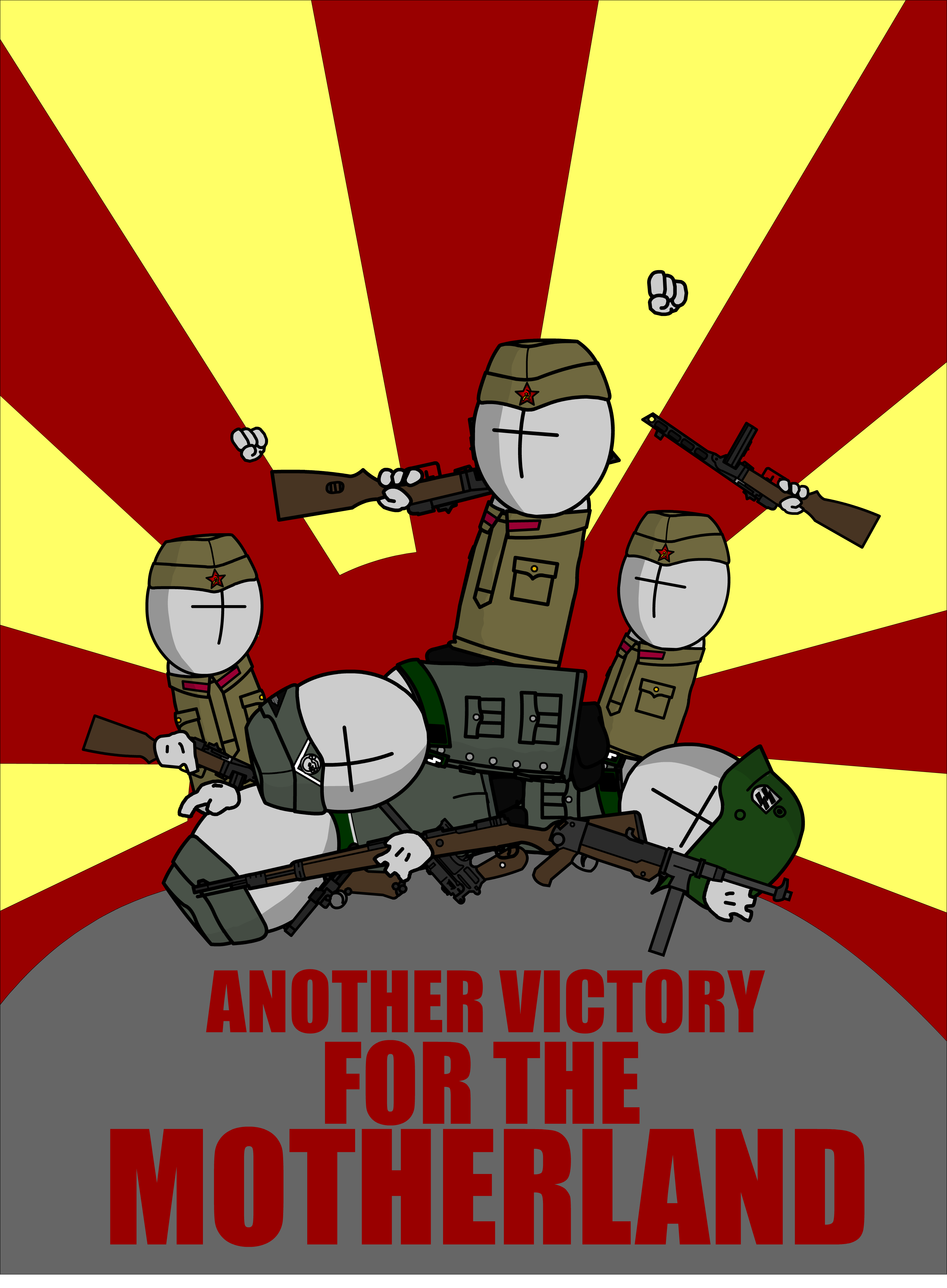 The Mad Army | Victory for the Motherland!