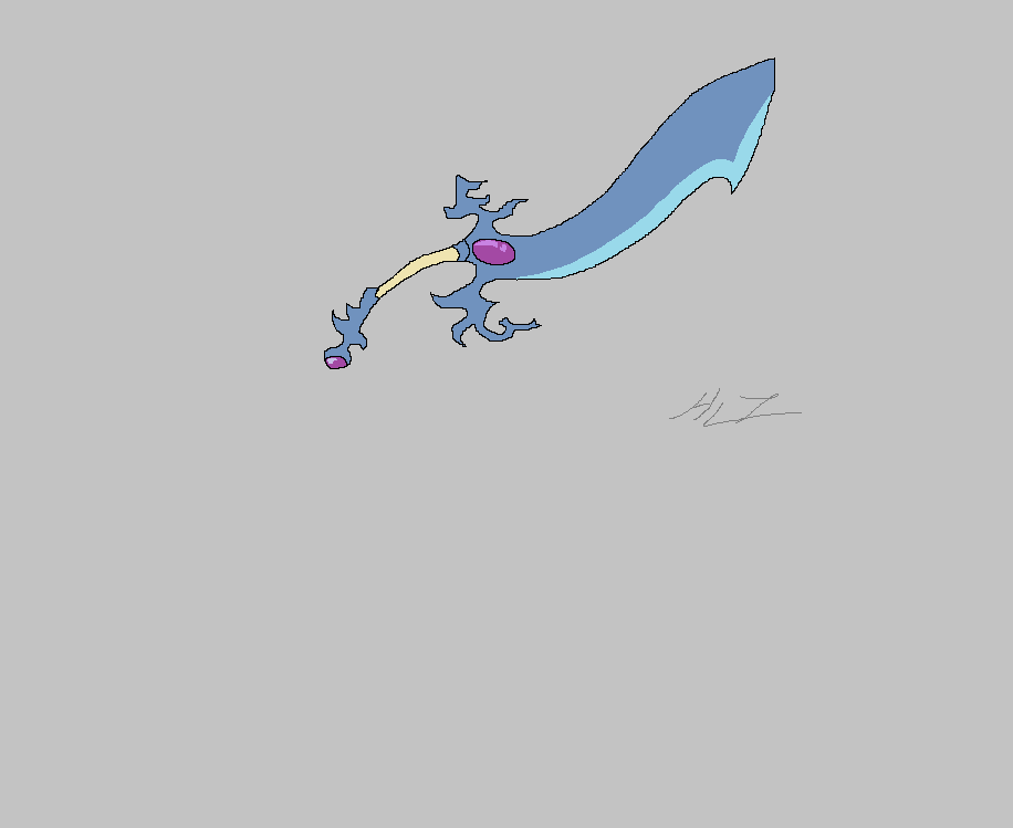 Wave Dragon Blade