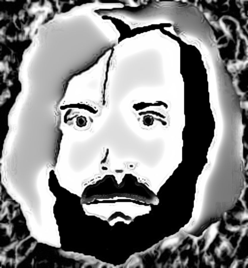 Charles Manson MS Paint