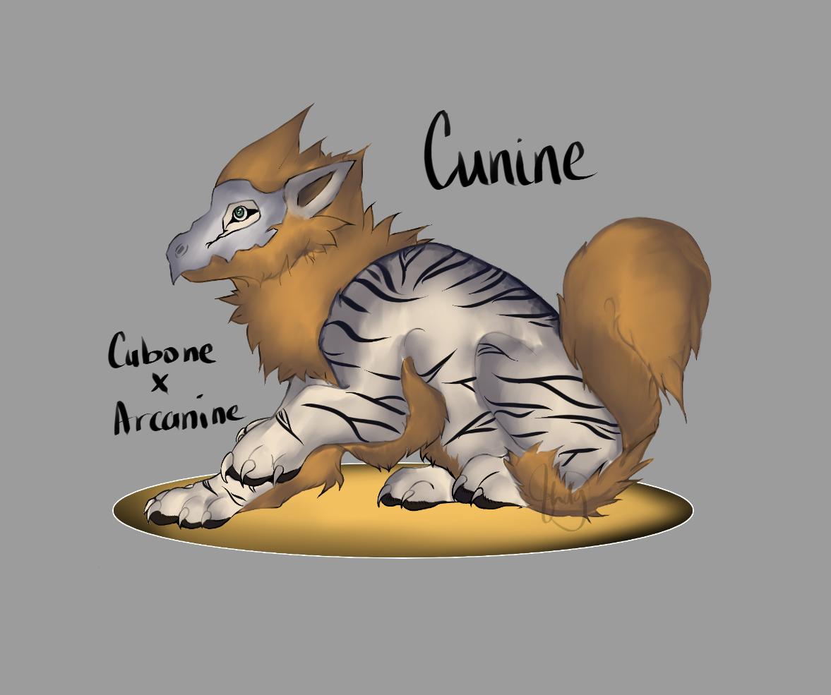 Cunine [Cubone X Arcanine]
