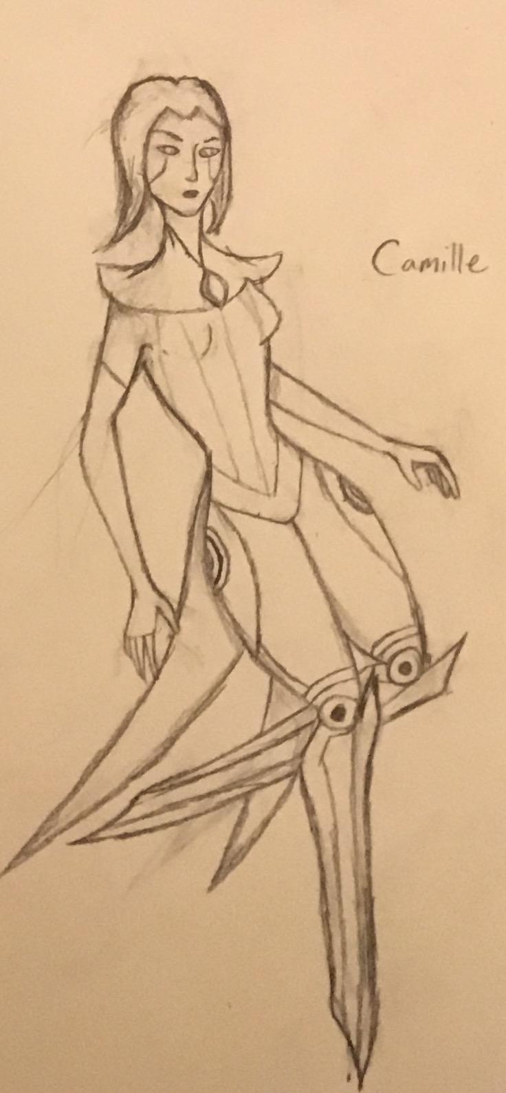 Camille, League of Legends.