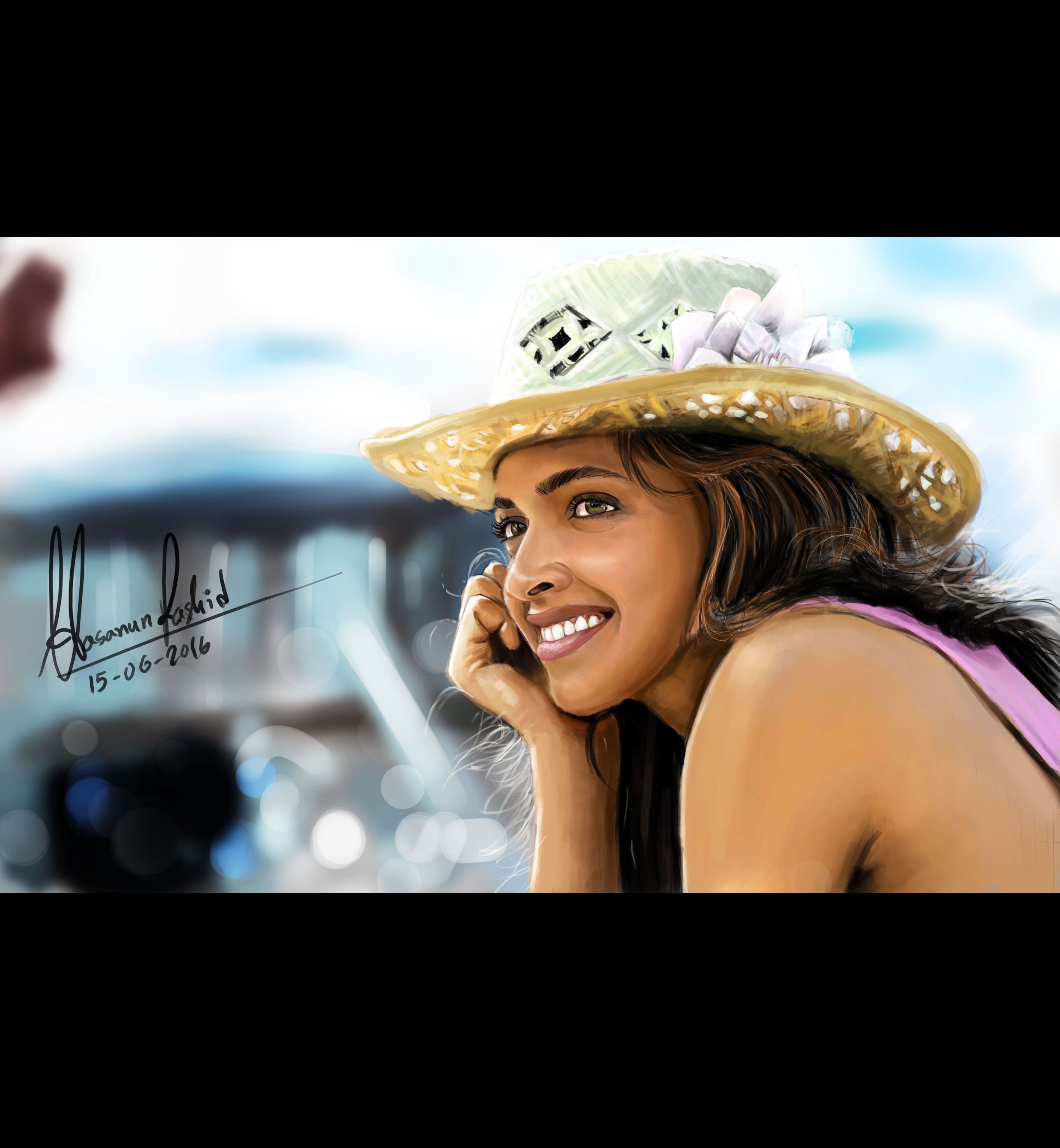 Deepika Padukon(BollywoodActress) -DigitalPainting