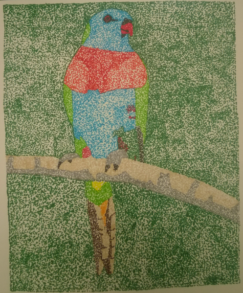 Pointillism!