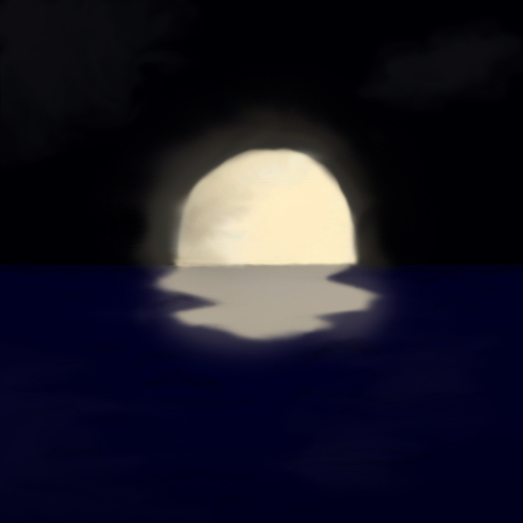 Moonlight Sea