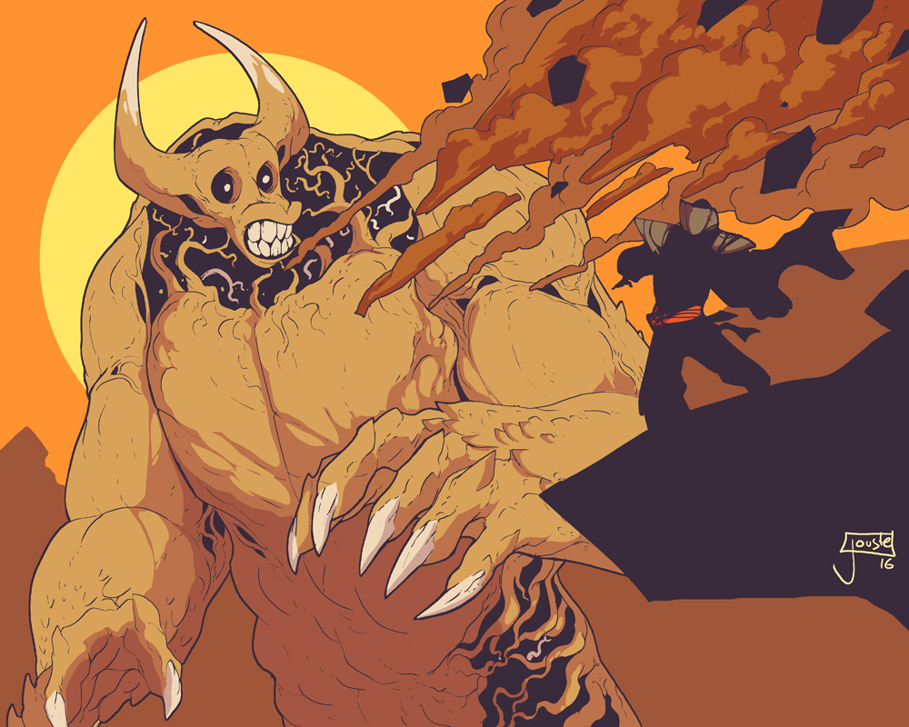 Rockslide Mage vs. Molochtus
