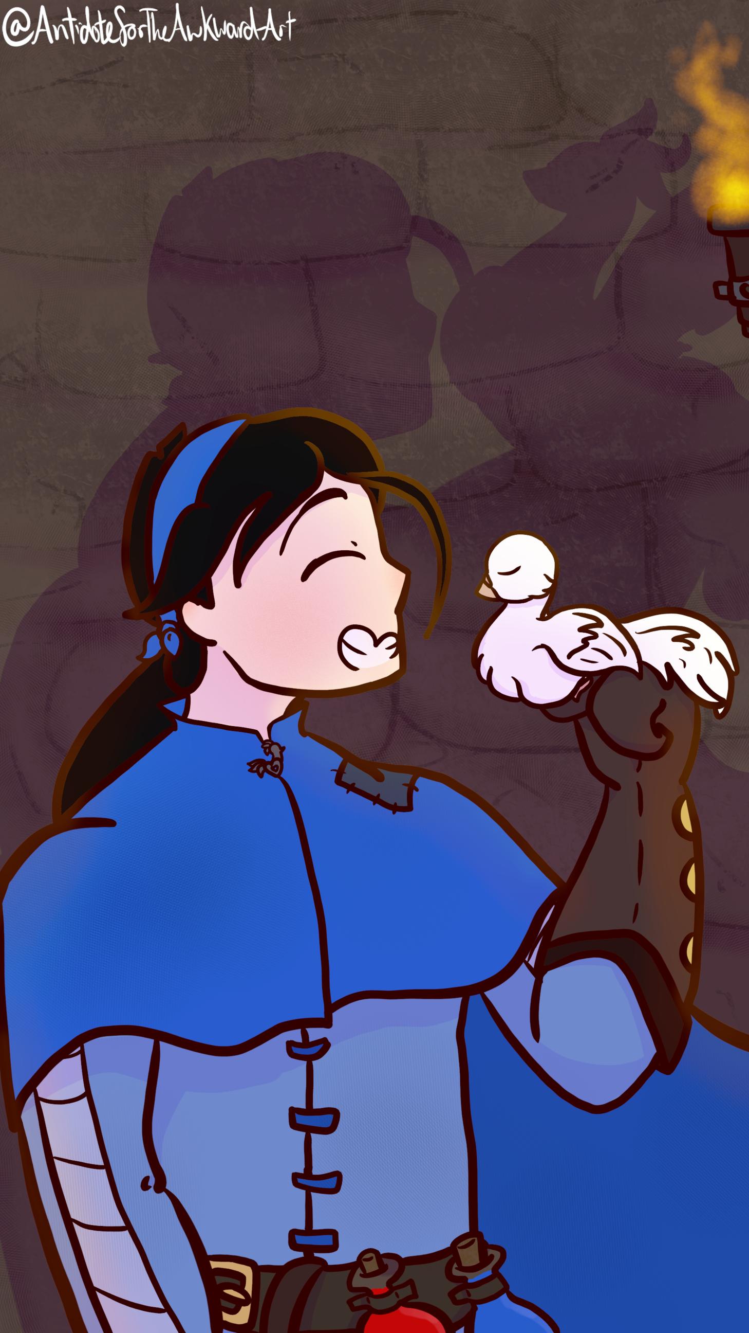 Necromancer and Dragon Dove