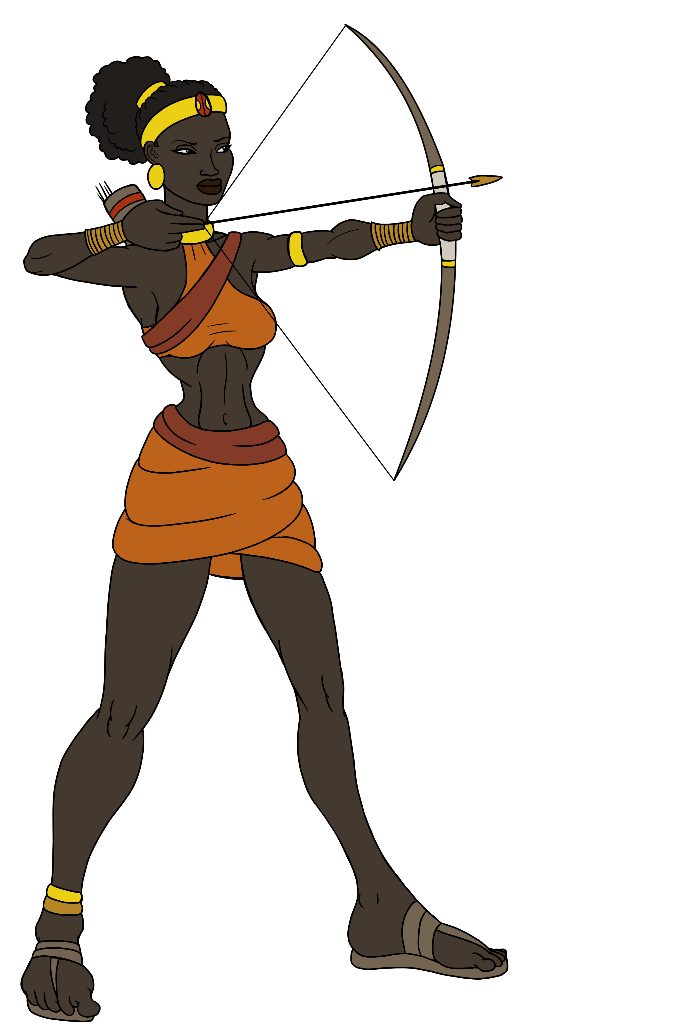 Archer Animation Reference