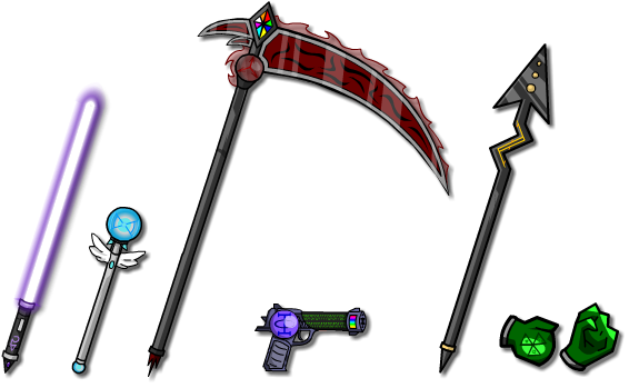Weapon collection 1