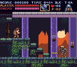 Castlevania 3 remake fake screenshot