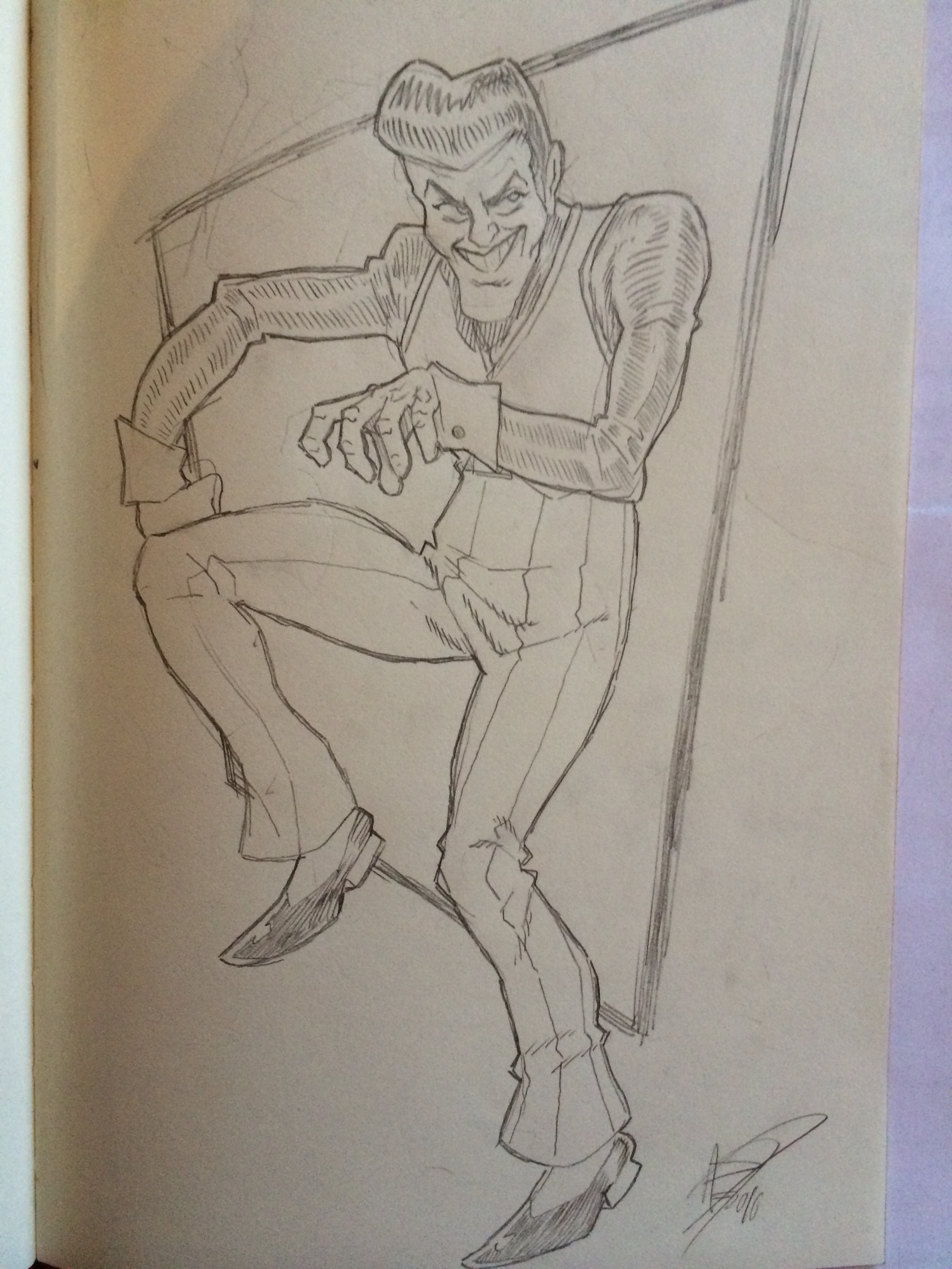 We are number one but Robbie's drawn by me!