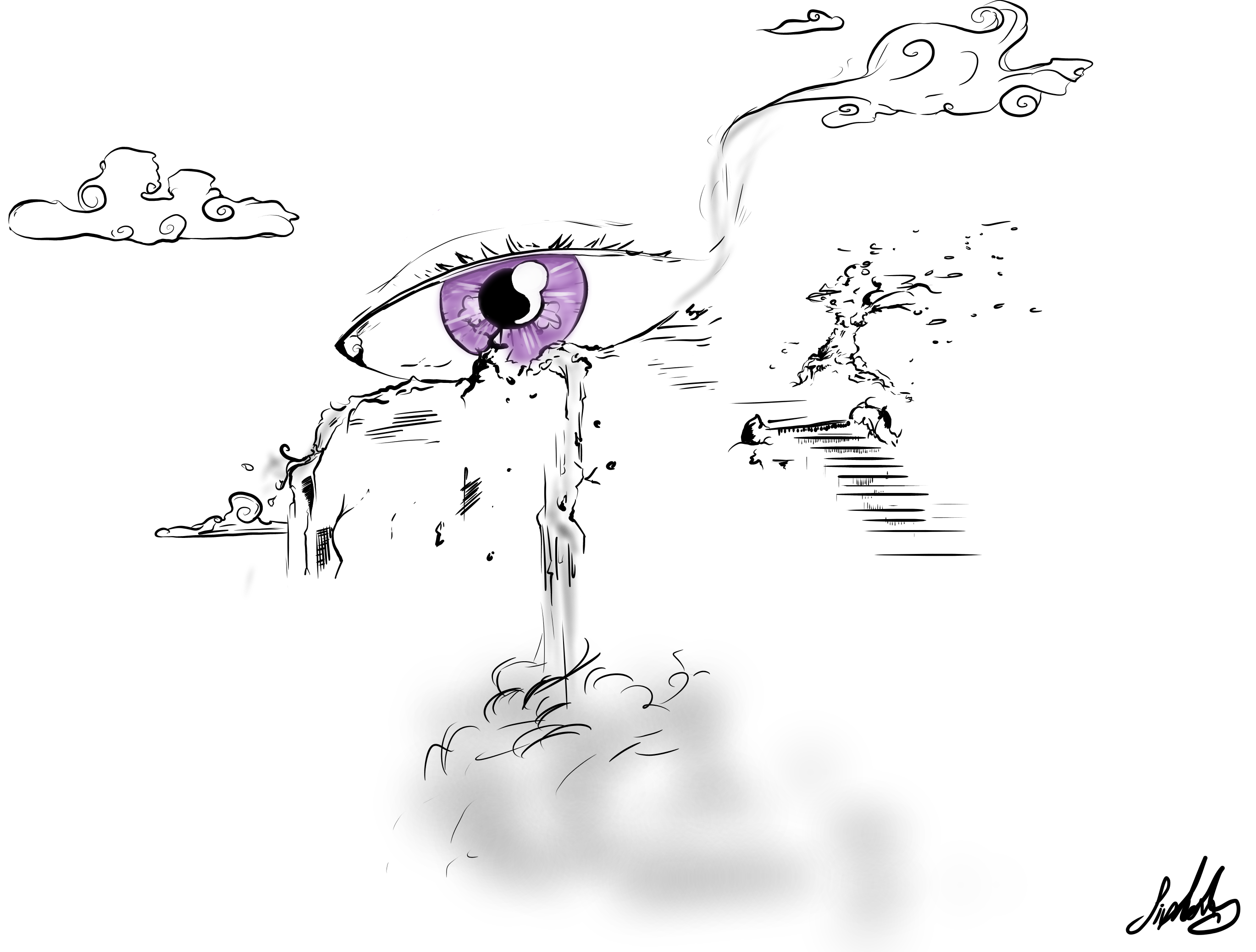 Eye Falls