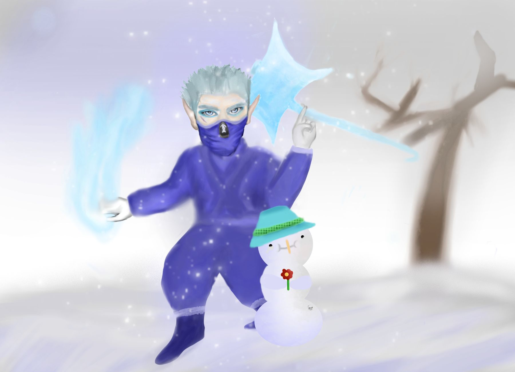 Frozix And Pablo The Snowguy