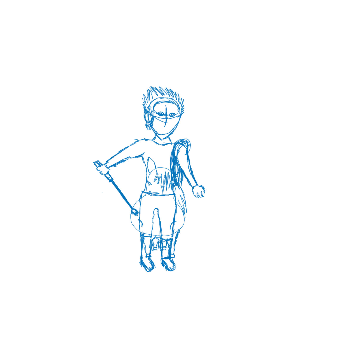 Character Design Draw With Jazza : Sketch for draw with jazza by vildedavidsen on newgrounds