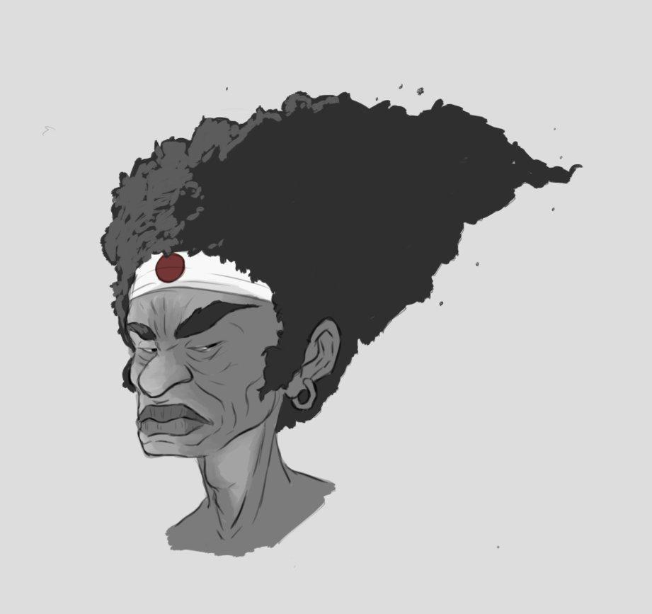 Yo! Afro! AFRO!!