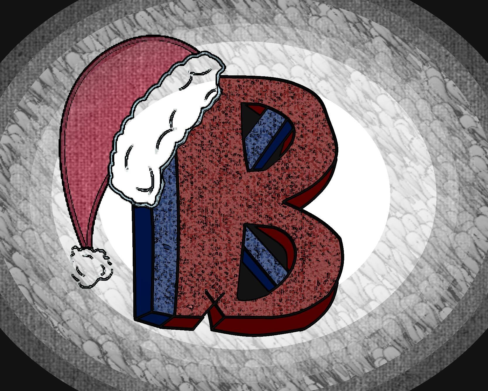 Dramatic Christmas Logo