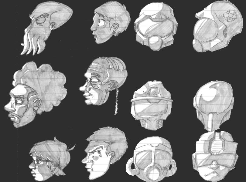 Head compilation 1