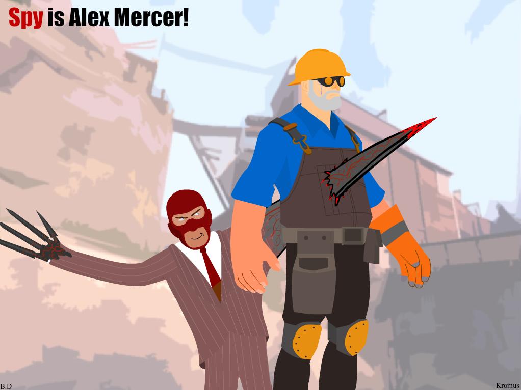 Spy is Alex Mercer