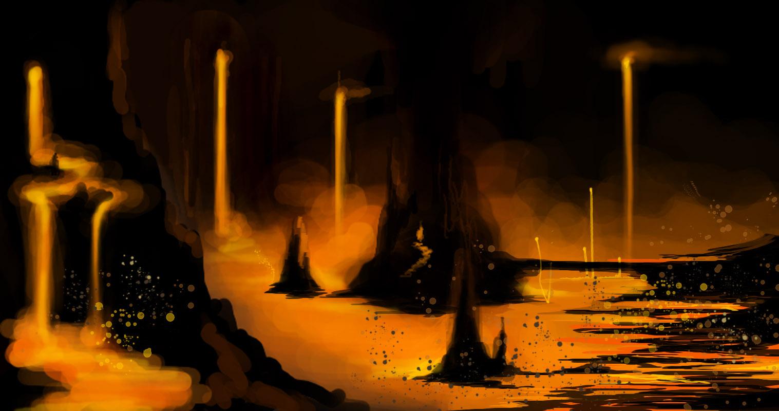 Magma Town