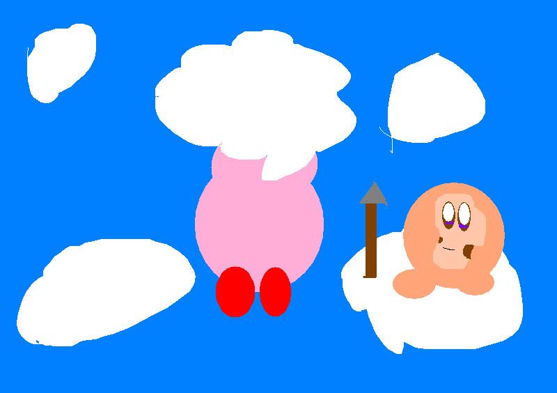 Kirby dreamland 2 bubbly cloud