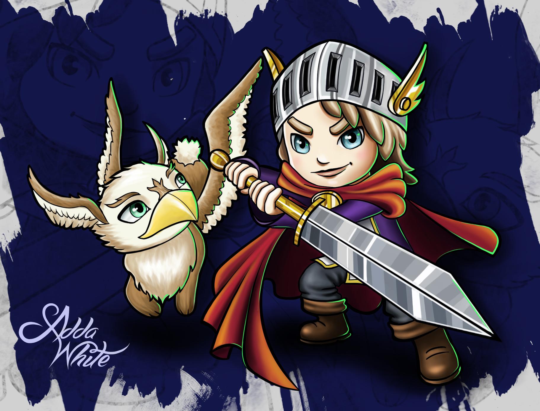Rabbit-Eagle Thingy NonStop Knight
