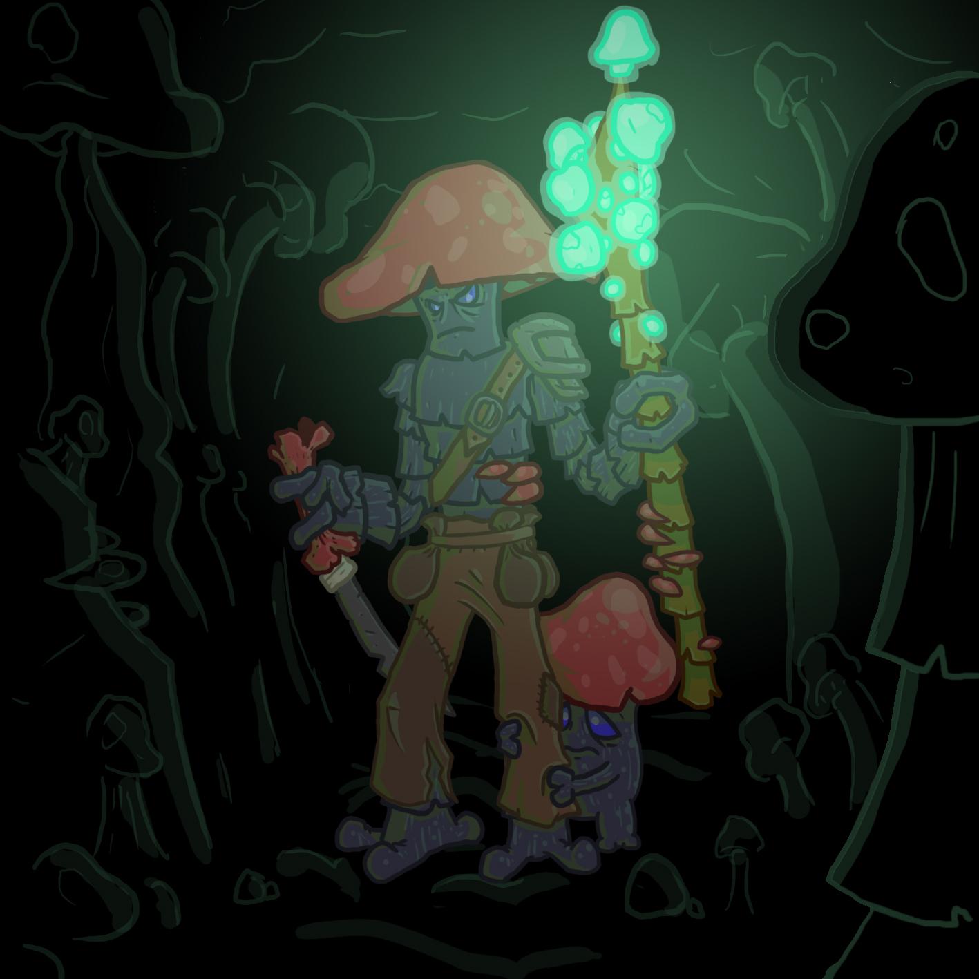 HeroPetChallenge Mushroom People