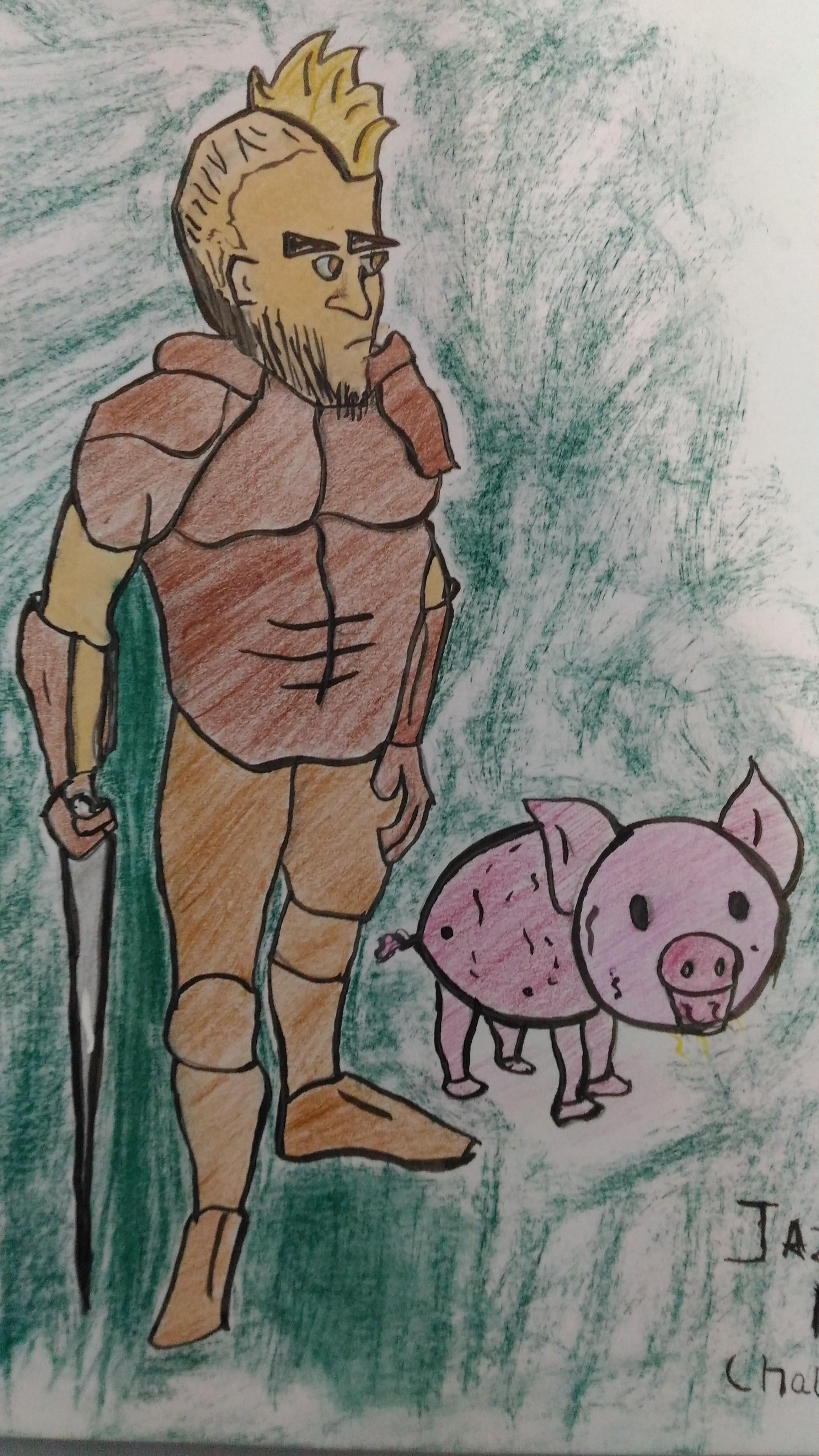 Reko and piggy