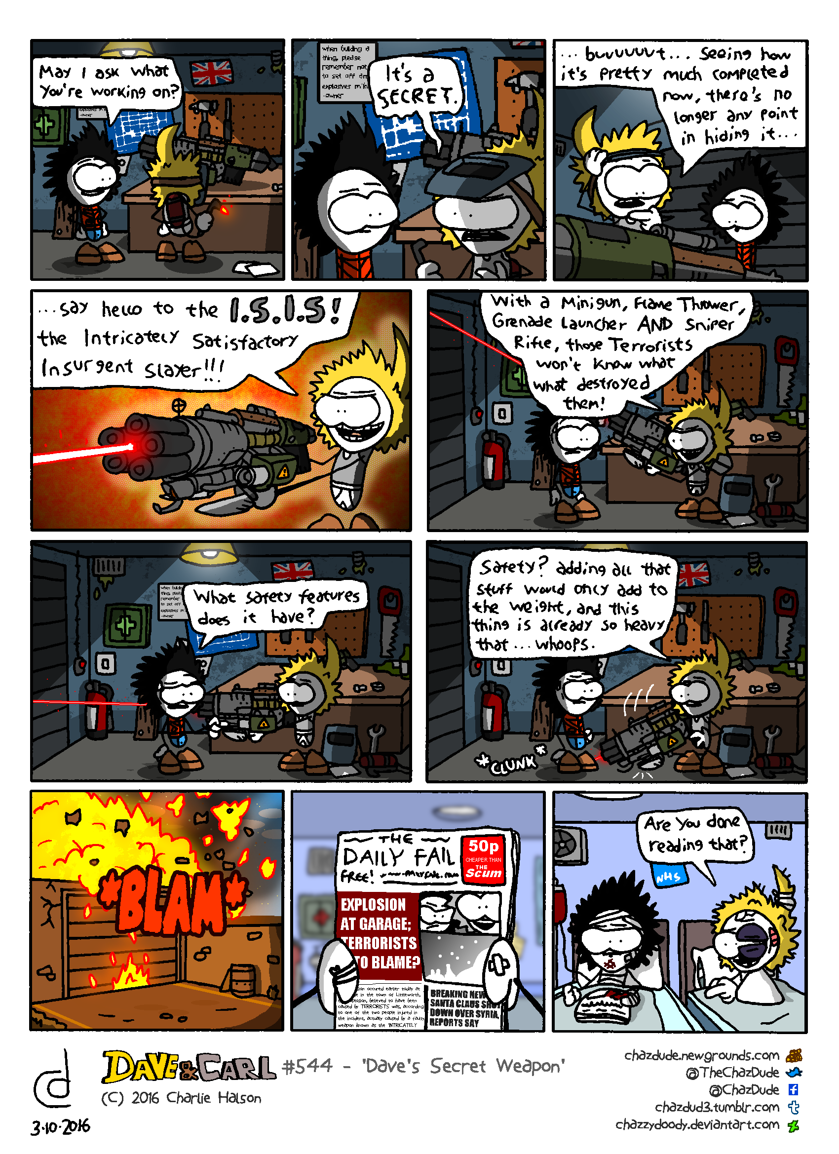 Dave's Secret Weapon