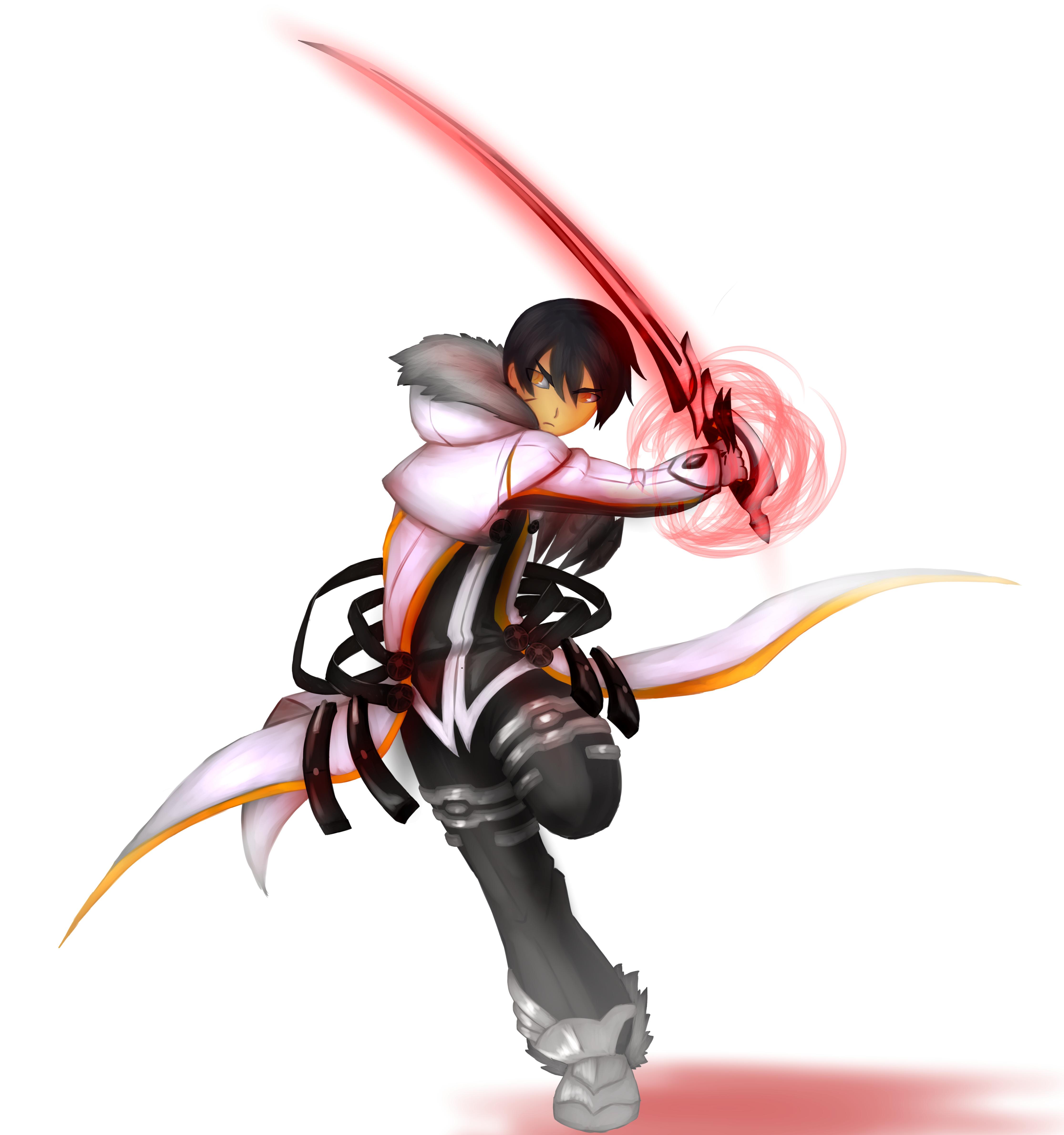 Bloody Accelerator Raven