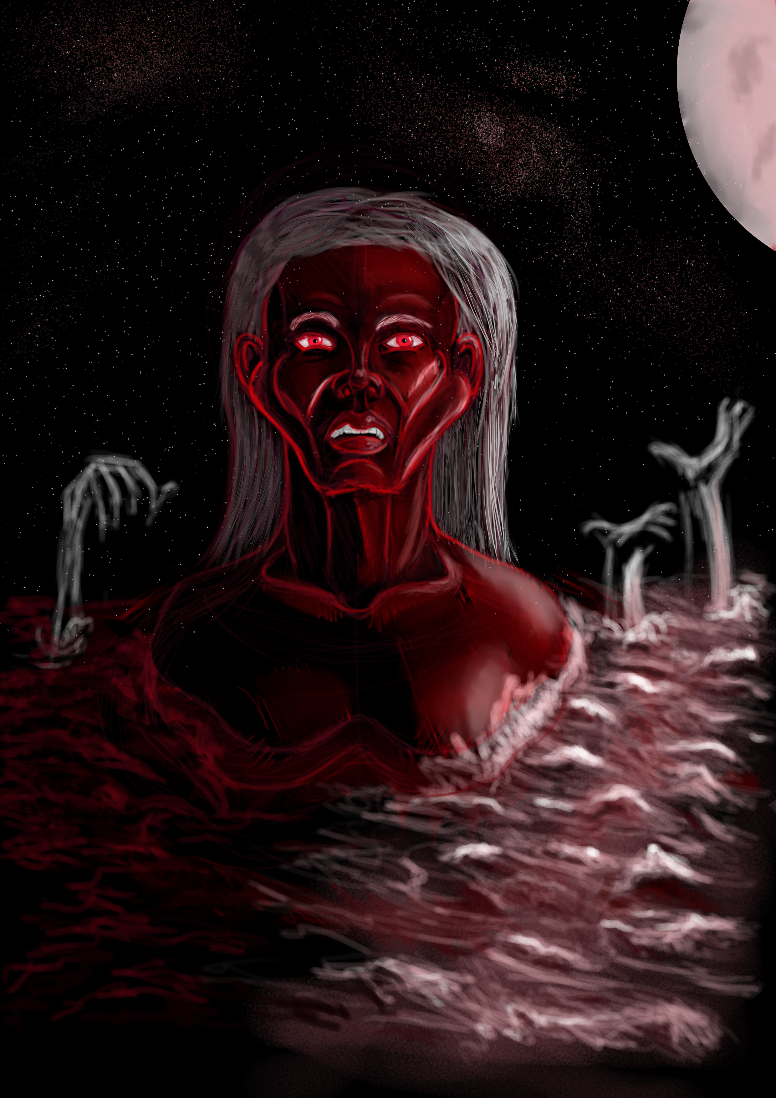 Witch Coming out of the sea (finished)