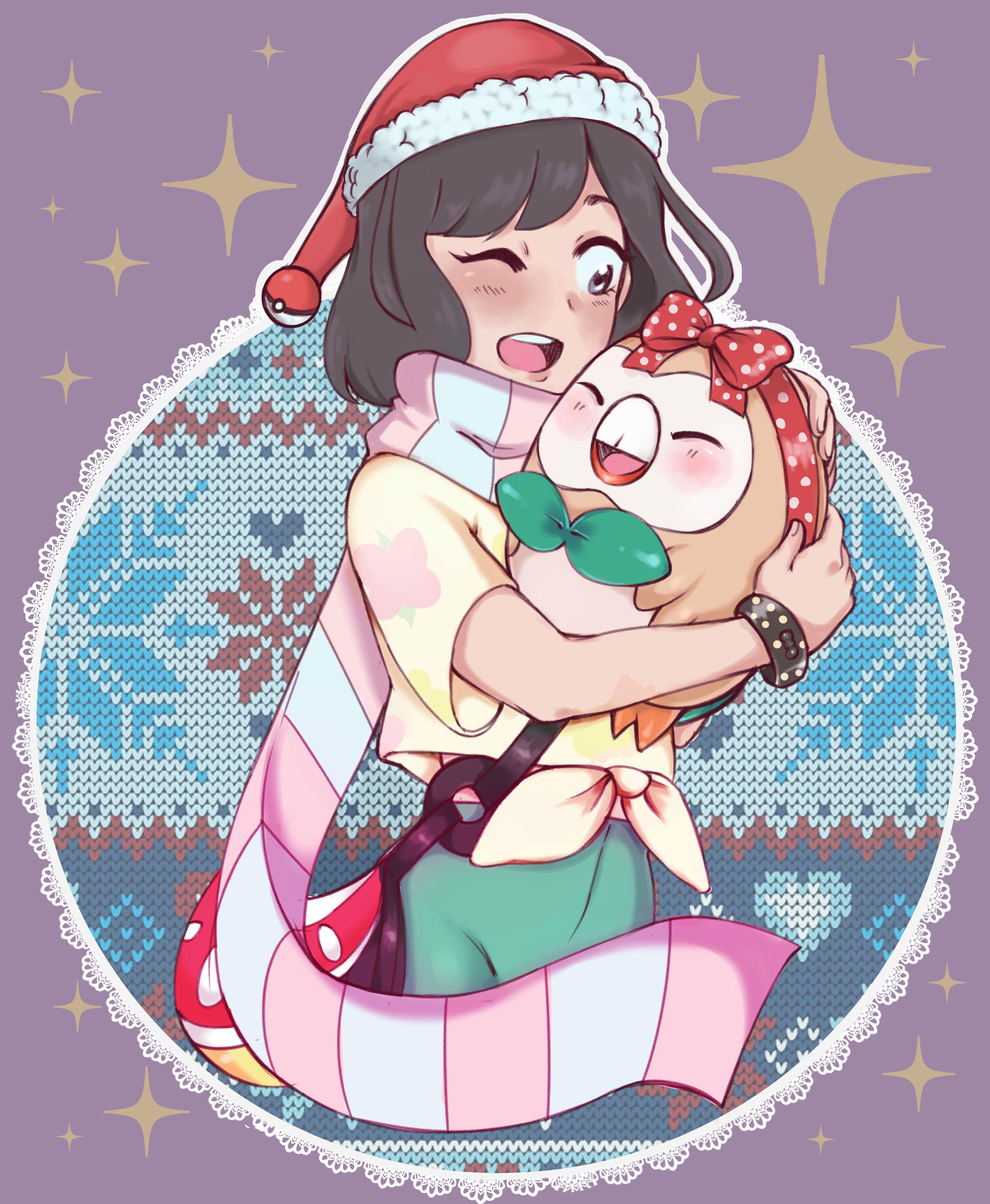pokemon sun and moon christmas!