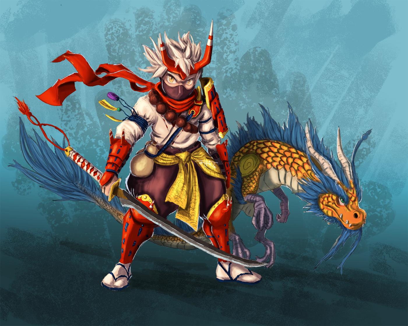 Heropet challenge, Oriental takedown!!!