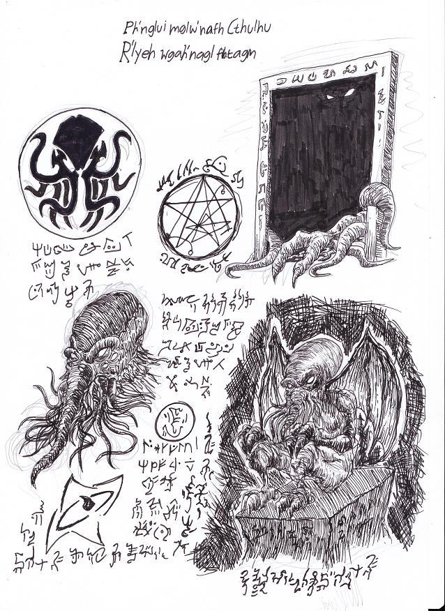 Necronomicon Page 1