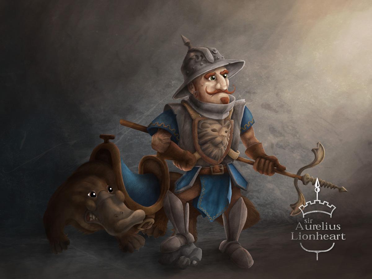 sir Aurelius Lionheart